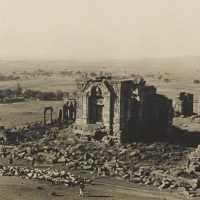 Surya Temple, Martand, Kashmir, c.1900-10. Photogrpah/John Marshall Adams.
