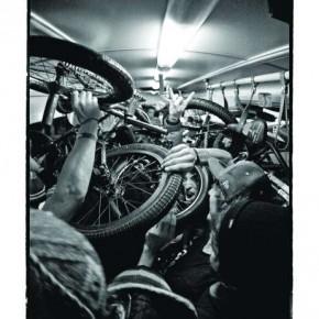 Camera: Canon EOS 50 Film: Kodak Lens: 15mm ISO: 800 Shutterspeed: 1/30sec. Photograph by Vincent Perraud / Red Bull Illume