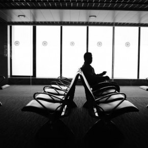 "Title: Waiting ""The photograph was taken while a man waited at the airport. I really liked the tonality and the natural contrast of the scene. While the seats form a repetitive pattern, the light coming through the windows brings in a kind of softness to the picture."" Camera: Nikon D3000 Lens: Nikkor 18–55mm Aperture: f/3.9 Shutterspeed: 1/25sec Photograph/Akhil Sharma, Pune"