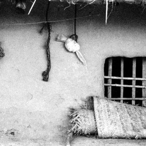 The exterior of this house tells a story about the family inhabiting it. photograph/Nilanjan Ray