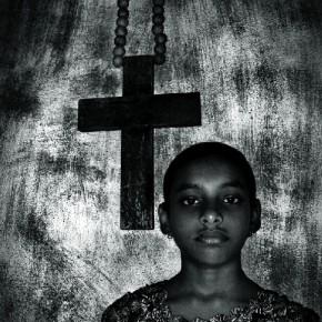 A portrait from his book titled Edge of Faith. Photograph/Prabuddha Dasguptaq