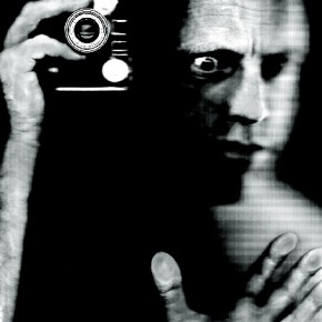 The Vision Machine, 2007: This self-portrait is symbolic of Kurt's belief that one can form a unique vision beyond the realm of sight. Photograph/Kurt Weston