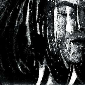 Journey Through Darkness, 2003: This evocative selfportrait has been created with a flatbed scanner. Photograph/Kurt Weston