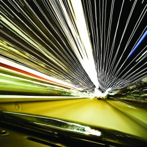 While shooting traffic, you can experiment with timing. When you begin and end the exposures has a great impact on the end result. Exposure: 6sec at f/5.6 (ISO 100). Photograph/Peter Suneson