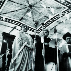 This picture of Sarojini Naidu was taken at a convocation at Patna College. Photograph/ Manoranjan Ghosh