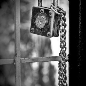 """""""The inclusion of a lock in a photograph almost always adds a sense of mystery to the image. What is being locked up, what is being protected, why is it there in the first place? Though the lock is just hanging on the gate, at first glance it arouses a certain curiosity."""" Photograph/Kaustubh Chuke"""