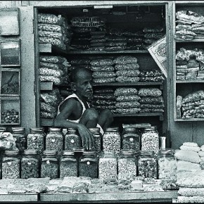 This portrait of a spice seller was a part of an extensive project that documented a culturally distinct Muslim neighbourhood in south Mumbai. Photograph/ Chirodeep Chaudhuri