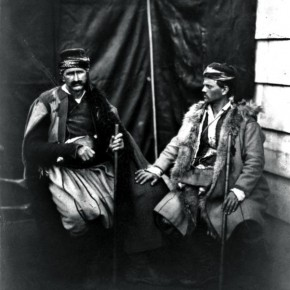 Here, Fenton photographed two Croats, belonging to a South Slavic ethnic group from Croatia. Photographer/ Roger Fenton