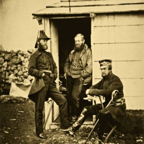 Often, Fenton would sell portraits made of the soldiers to them, making a little profit out of his work. Photographer/ Roger Fenton