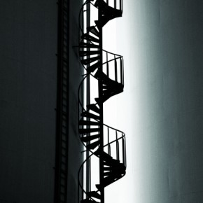 Shoot stairways while looking down from the top and from various other vantage points to get a unique graphical image.. Photograph/Simon Tullstedt