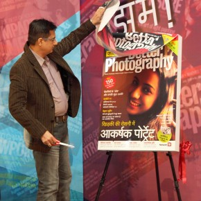 CEO publishing, Infomedia18 Ltd, Sandeep Khosla unveils the Hindi Edition of Better Photography