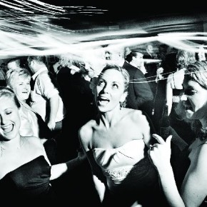 This lively moment of the bride enjoying with her friends is typical to Seshu's photography. Photograph/Seshu