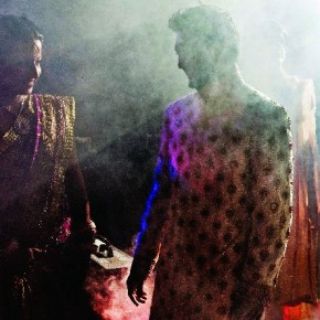 By using a flashbulb parked in the far corner of the dance floor, Seshu was able to capture this magical moment. Photograph/ Seshu