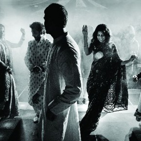Seshu captured the dancing couple and a guest on the other side of the dance floor in this burst of light. Photograph/Seshu