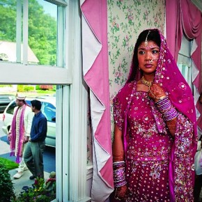Looking for some behind-the-scene moments, Seshu was waiting with the bride when he was told that groom was coming. He immediately saw this setting and clicked a picture. Photograph/Seshu