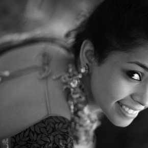 Expressions, and smiles particularly, are key to wedding photography. Photograph/Prakash Tilokani