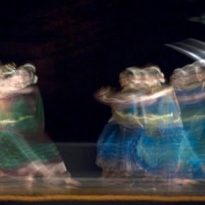 I try to watch out for any short intervals in the dance movement, so that the blur has some definition in it. Exposure: 1/2.5sec at f/14 (ISO 250). Photograph/Ajay Verma