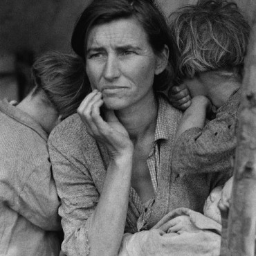 Photograph/Dorothea Lange; Image Source: Library of Congress, Prints & Photographs Division, FSA/OWI Collection