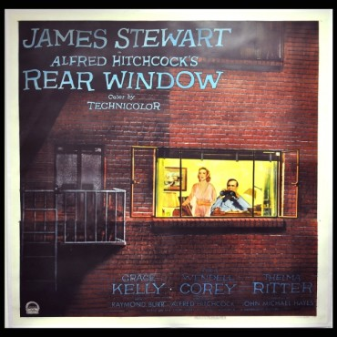 Rear Window by Alfred Hitchcock.