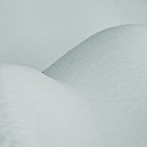 In the morning, fresh snow had created this erotic form by the roadside. Photograph/ Ashok Dilwali