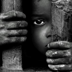 The hands can tell the story as much as the eyes. Photograph/Asis Kumar Sanyal