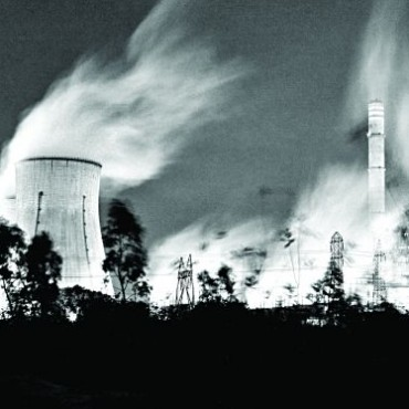M Johnbasco's prize-winning photo of a thermal power plant in Neyveli, Tamilnadu shows a grim reality of how pollution is smearing the beauty of an Indian city's landscape. Photograph/ M Johnbasco