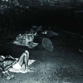 These men were lying inside the mine in total darkness, in a cold and damp section of the mine. Photograph/ Arindam Mukherjee