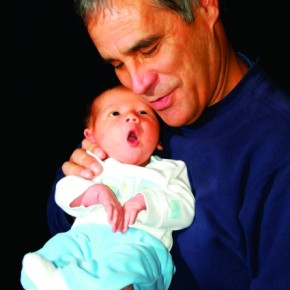 Photograph your baby with the father or mother holding it. The bonding of a child with parents is an essential part of the initial years. Photograph/Ben Earwicker