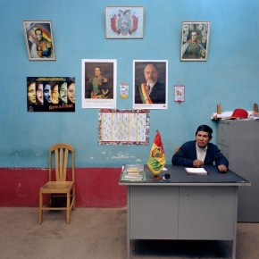 Aario Calizaya Condor, Deputy Mayor of Betanzos, Bolivia, has only completed elementary school and has a monthly salary of Bolivian Boliviano 1200 (approx. Rs. 7800). Photograph/ Jan Banning