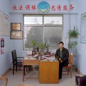 Zhang Mao Guo is an official teacher for justice and values in a Chinese village. His monthly salary is Chinese Yuan 1500 (approx. Rs. 10,500). Photograph/ Jan Banning