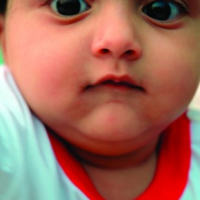 Experiment with tight cropping to focus on the features and expressions of your child. Go close or use the telephoto end of your lens to achieve this. Photograph/Samira Pillai