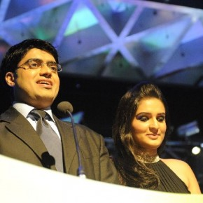 The hosts for the evening Sumiit Lakhutia and Avneet Kohli.