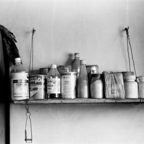 The feisty manner in which she led her life was in stark contrast to her age. This image shows a shelf that Homai constructed entirely on her own. Photograph/Ishaan Dixit