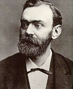 Alfred Nobel: Swedish inventor who took the first aerial photograph using a rocket-mounted camera.