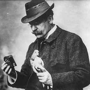 Julius Neubronner: This German inventor patented rockets propelled by compressed air, which could take pictures.
