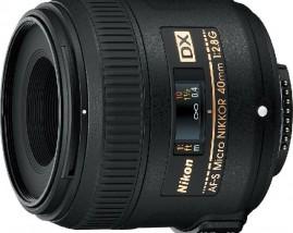Nikkor AF-S DX Micro 40mm f/2.8G