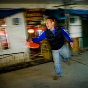 The use of Slow Sync flash while panning the subject is a sureshot way of getting it sharp.. Photograph/Raj Lalwani
