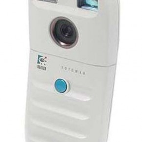 Dycam Model 1: This B&W camera was the world's first completely digital consumer camera. It was released in 1990 and could store 32 compressed images on 1MB RAM.