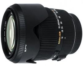 Sigma 18–200mm f/3.5-6.3 II DC OS HSM