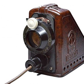 Opaque Projectors: In the 1950s, German company Bakelite launched a model that could project opaque materials. Source/Wikimedia Commons