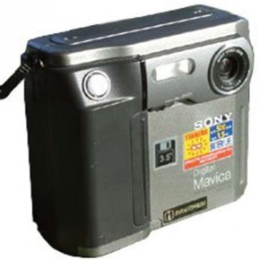 SONY Cybershot DSC-MD1: Also launched in 1997, this camera could store up to 2000 images in Picture MD format (using MD Data discs). It could also function as an MD audio format recorder/player.