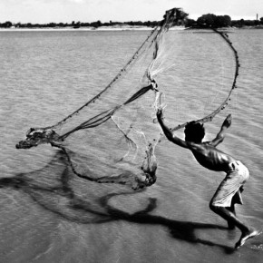 Pranlal used to be very fond of swimming and exploring the life along the banks of the Sabarmati river. Photograph/Pranlal Patel
