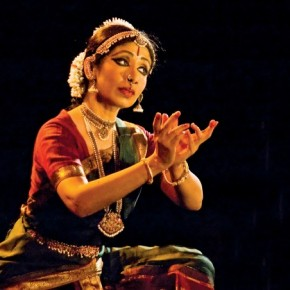 Rapturous moments of expression lend themselves naturally to telling pictures. Exposure: 1/350sec at f/5.6 (ISO 1600) Performing artist: Bharatanatyam and Odissi dancer, Alarmel Valli. Photograph/ Dr P K M Pillai