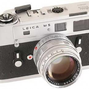 Leica M5. Source: www.summilux.net