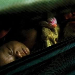 Siem Reap Cambodia: An infant sleeps in a cradle. Photograph/Abdul Rahman Roslan