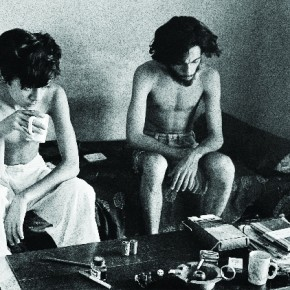 Robin and Pablo at home, New Delhi, 1972. Photograph/Richard Bartholomew