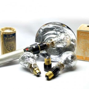 Flashbulb: Year: 1893 Frenchman Chauffour designed the first photoflash bulb by igniting magnesium in a globe of pressurised oxygen. In 1930 General Electric launched the first commercially available flashbulb, the Sashalite. It made use of an aluminium foil in a pure oxygen surrounding.
