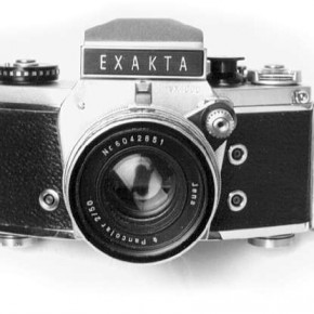 Flash Synchronisation: Year: 1935 Flash Sync means that a flash head is fired at the moment when the shutter is at its peak opening. Falcon Press Flash was the first massively produced camera with this feature. It was produced in the year 1939. The first camera with flash sync was the Exakta (1935).