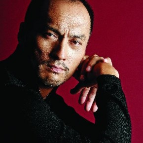 """This image of Ken Watanabe was shot in Tokyo for the publicity of the movie Memoirs of a Geisha. Russel says,""""He was so easy to work with, and we spent half a day just shooting."""" Photograph/Russel Wong"""