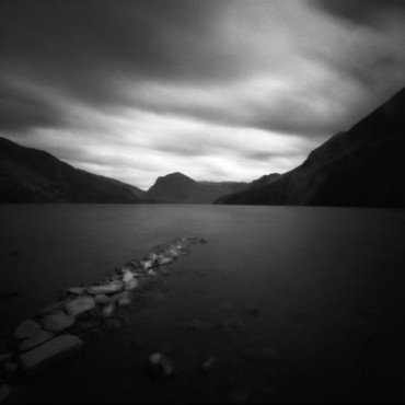 Pinhole cameras require long exposures, so you may need to fasten them onto steady surfaces, to avoid shaky images. Photograph/Kirsten Thormann